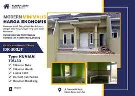 Rumah Minimalis Harga Murah Dekat UIN Raden Intan Lampung