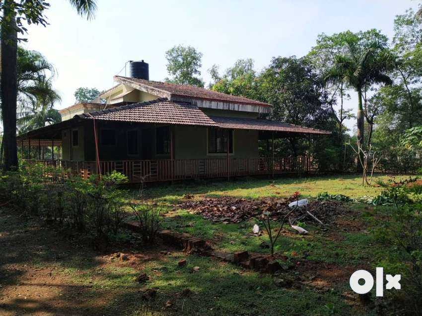 Canal touch 5 acre ready Farmhouse for sale at village varai, Karjat 0