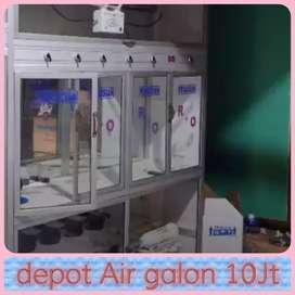 Kerja mesin Depot 3 pemgisian 2 cuci , harga 10jt
