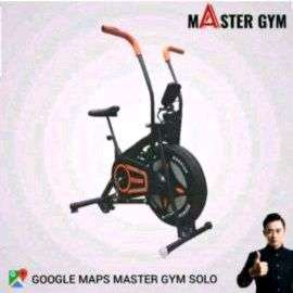"""Alat Fitness SEPEDA STATIS BIKE """"Sports At Home"""" Master Gym ID#6174"""