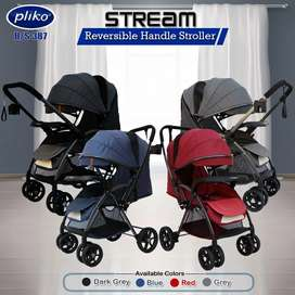 Stroller pliko Stream, bisa dipakai utk Bayi New Born Ready 920rb