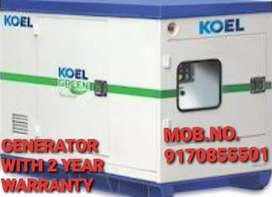 GENERATOR WITH 2 YEAR WARRANTY N FREE DELIVERY N SERVICE N INSTALATION