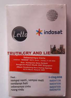 Kaset LETTO album truth cry and lie masih segel