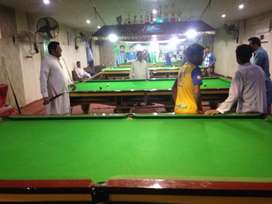 Running snooker club for sale