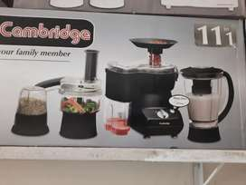 Cambridge food factory 11in1 warranty 2 years