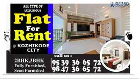 2 BHK Flat for Rent in Kozhikode City