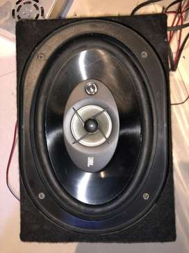 Next to new car audio system with home setup