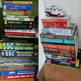 Upsc mains and preliminary books