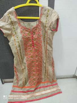 Used kurti top for size : L/Xl
