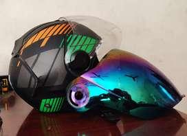 Steelbird SBA 2 Full face graphic helmet with extra visor
