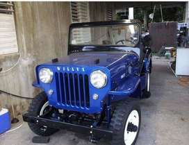 Royal blue willy jeep for sale