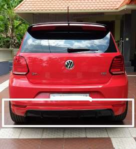Polo rear / back bumper diffuser skirting