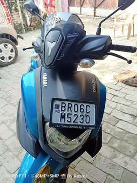 Only 1700km drived and Very New scooty