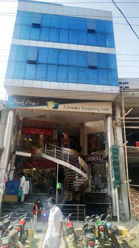 Zubaida plaza shops for sale on investor rate