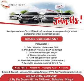 Dibutuhkan Segera Sales Mobil