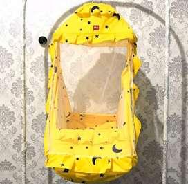 Ayunan Kelambu Set Bayi Plus Kasur