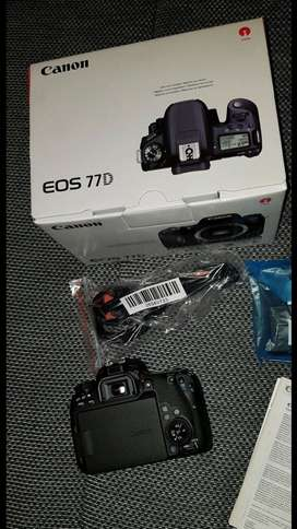 Brand new original Canon EOS 77D for sale with full accessories