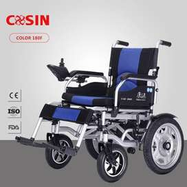 Electronic Wheelchair Battery Powered Folding