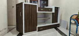 Made on order, Tv unit with shoe rack