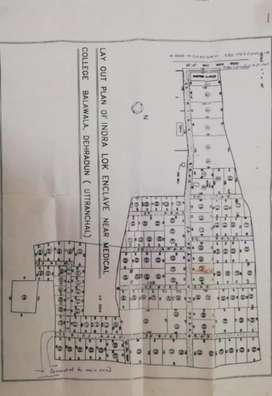 3200 foot or part 1200 foot plot available in Bala wala Dehradun