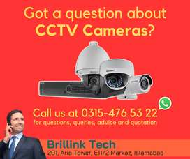 All kind of CCTV Cameras in Islamabad