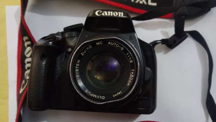 Canon 450d with 50mm 0
