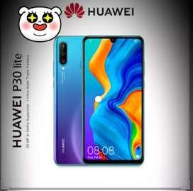 Huawei p30 lite 4/64 new garansi resmi bisa tukertambah bisa cicilan