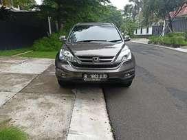 Dijual Cepat Honda CR-V 2.4 2011 Coklat Tua Mulus