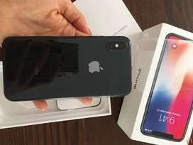 Iphone X 64 gb available new condition , cod & EMI available