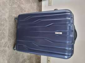 Skybags Polycarbonate Blue Hardside Carry-On. Large luggage/trolley