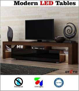 Modern high gloss led stand tv stand for sale / lcd consoles for rooms