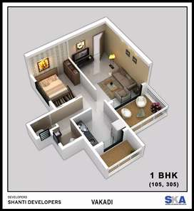 Buy spacious 1 BHK at new Panvel just@26 lacs