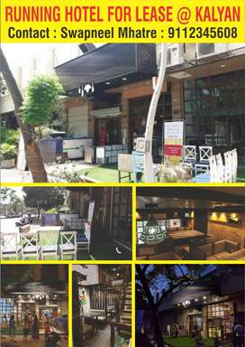 Running Restaurant / Hotel is for Lease at KALYAN (West)