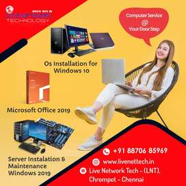 Computers & Laptop and OS Installation @ your doorstep