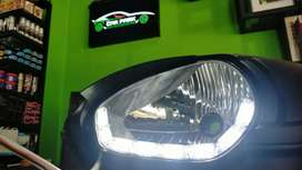 Modified hedlap with DRL alto 800 type 2nd 3