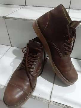 Brodo Boots Kulit Asli