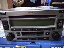 Head unit Toyota Rush asli copotan