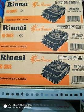 Kompor Rinai RI301S satu tungku minimalis
