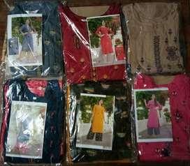 Plazo kurta set new branded cotton