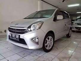 Dijual Toyota AGYA G Manual 2014 Silver Bisa Credit DP Murah