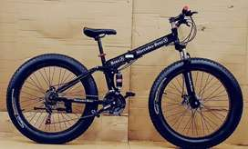 New Fat And Foldable Cycle With 21 Shimano Gears