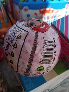Mainan anak lol bulat BISA LANGSUNG DI KIRIM GOSEND