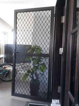 Pintu anti nyamuk expanda, pintu kasa nyamuk expanda, pintu aluminium