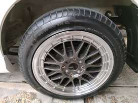 Velg ring 16 HSR Lemans 306 grey polish like new muluss