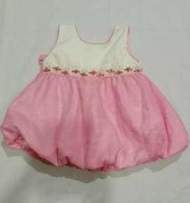Dress bayi Perempuan Usia 1 -2 tahun  Model balon