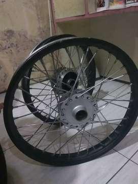Velg supra x125 aluminium Rossi ring 17