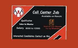 Call center girls and boys in Ranchi