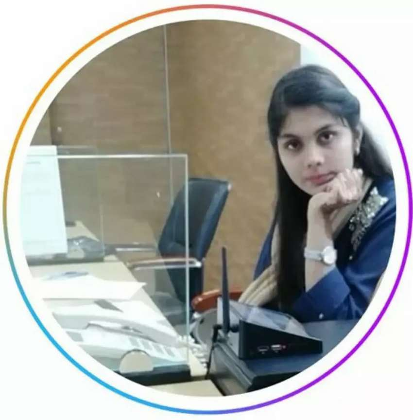 Need Experience Male / Female Staff for Office at University Road. 0