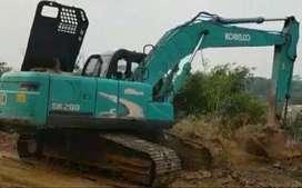 Jual Alat Berat Excavator Kobelco SK200-8 Acera Geospec Super 2013