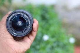 Canon EFS 18-55mm lens